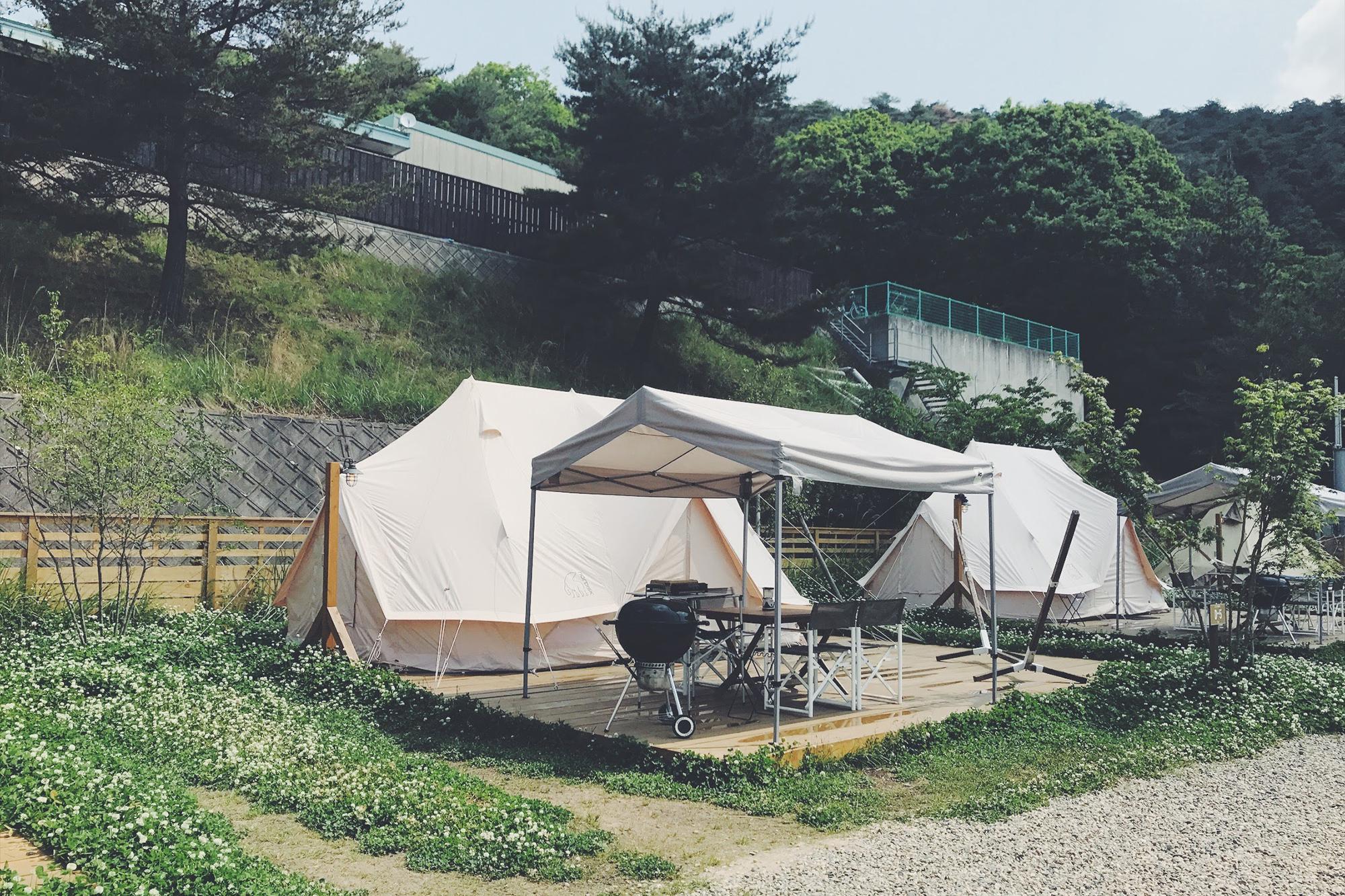 京都グランピング るり渓GRAX 新テント