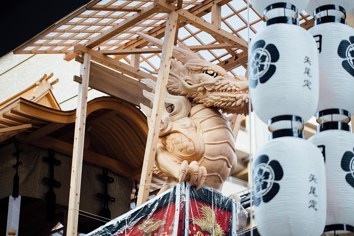 大船鉾の竜頭