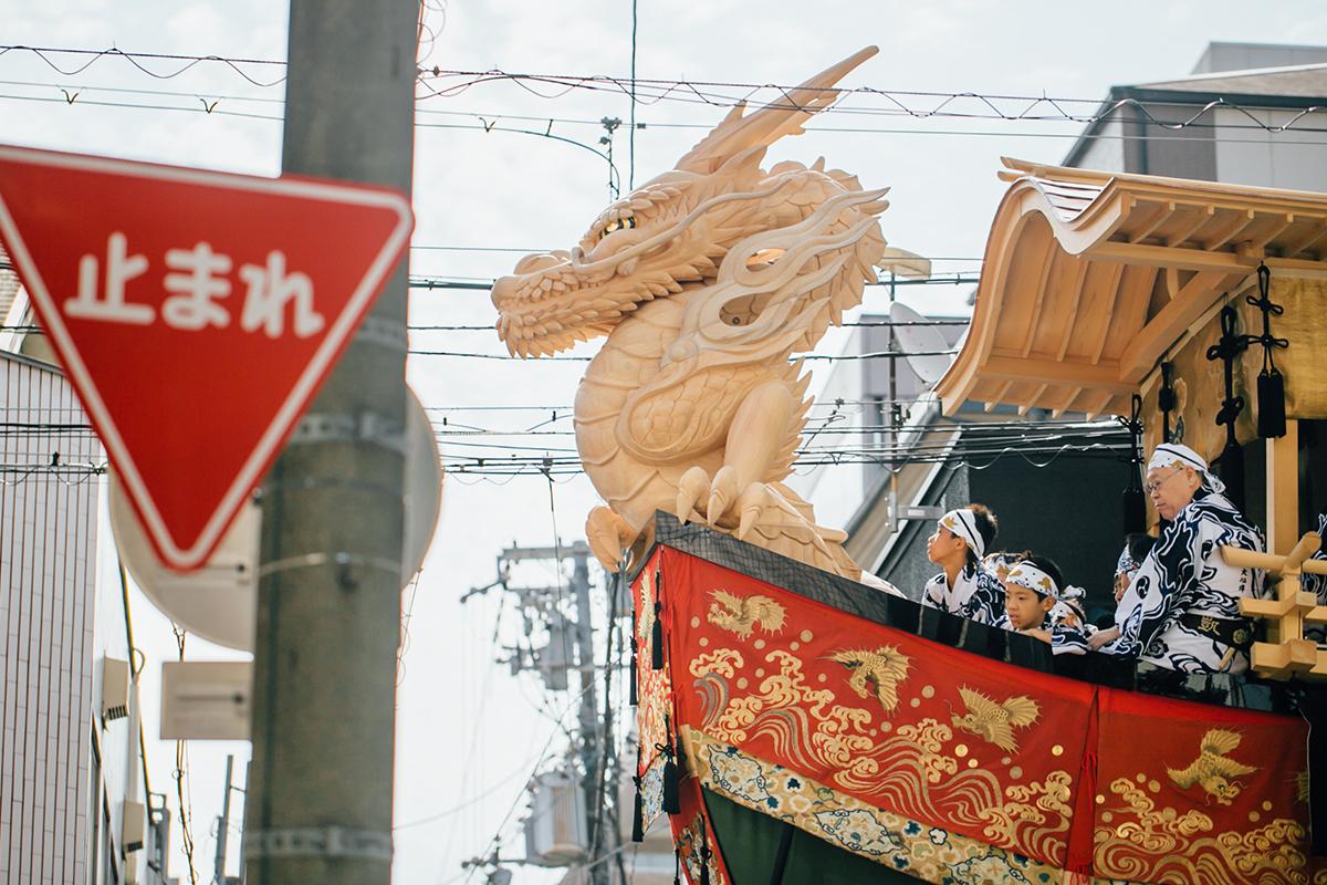 祇園祭 2016 後祭 大船鉾の龍頭