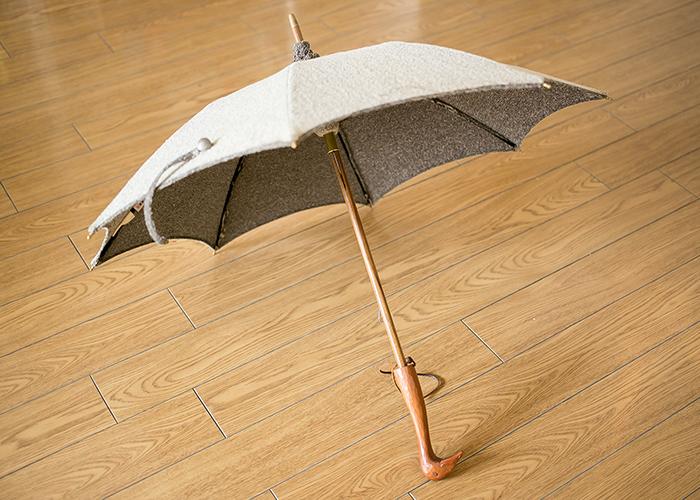 イイダ傘店×Kiyataの日傘