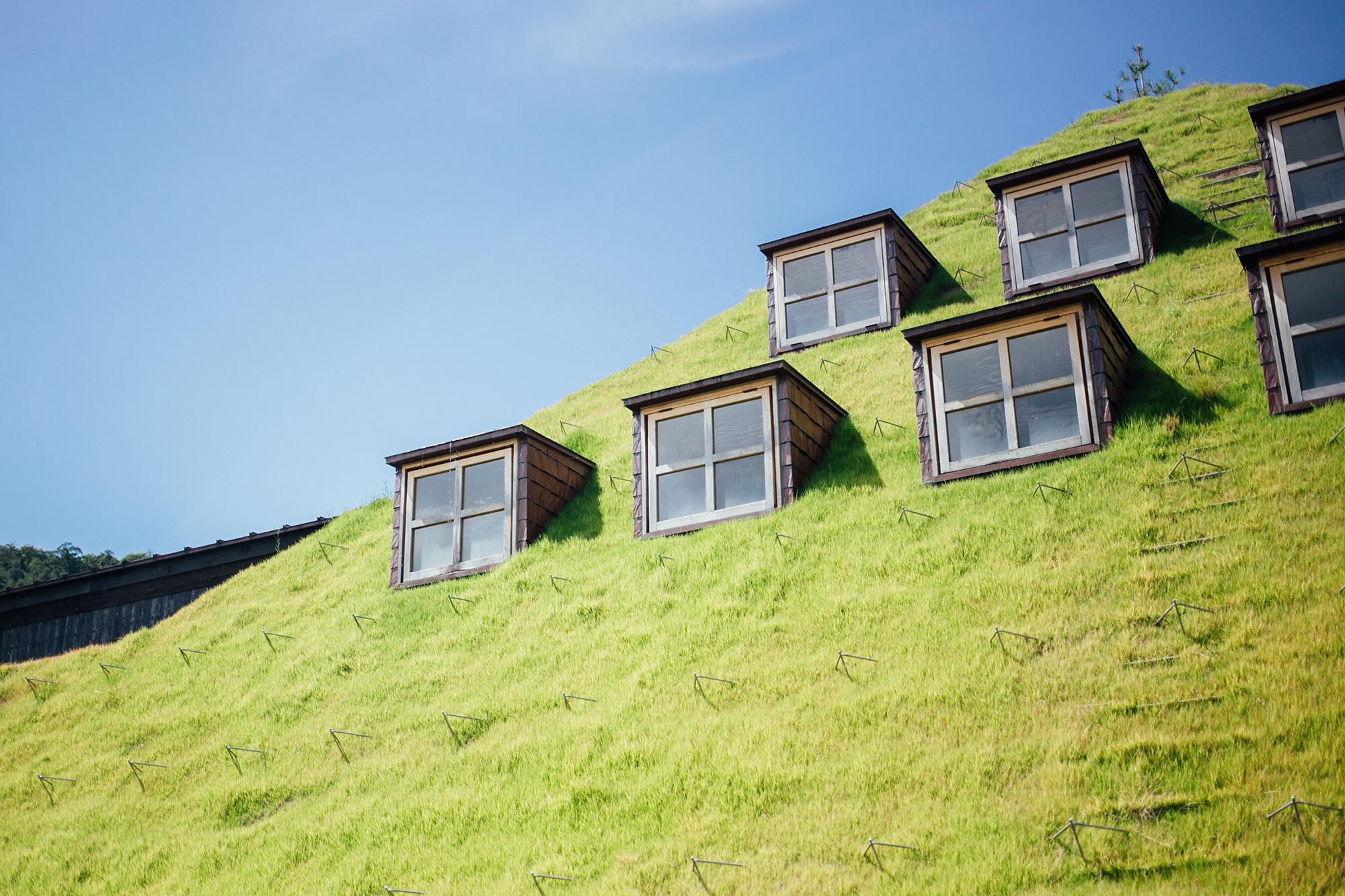 ラ コリーナ 近江八幡 たねや 草屋根