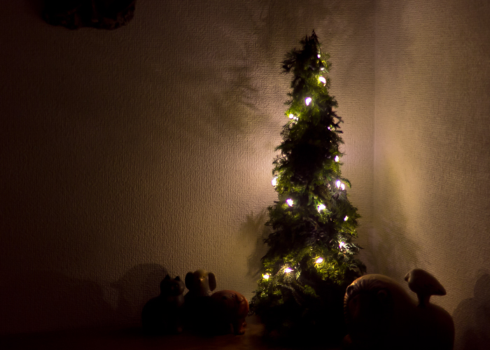 らくらくツリー ライトアップ