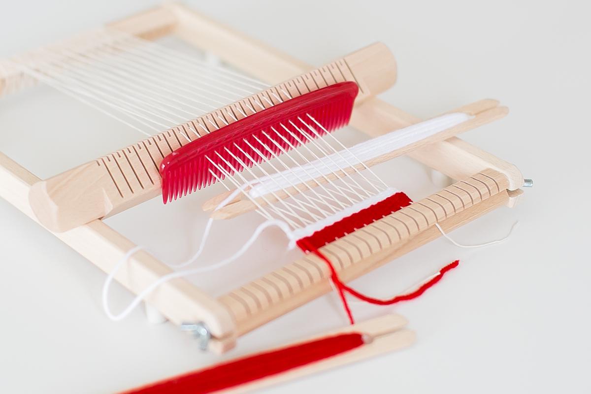 織り機イネス 最初の織