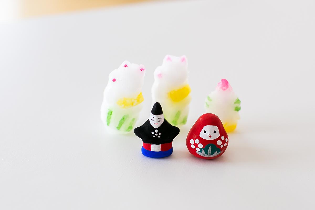 金沢諸江屋 福徳煎餅 土人形