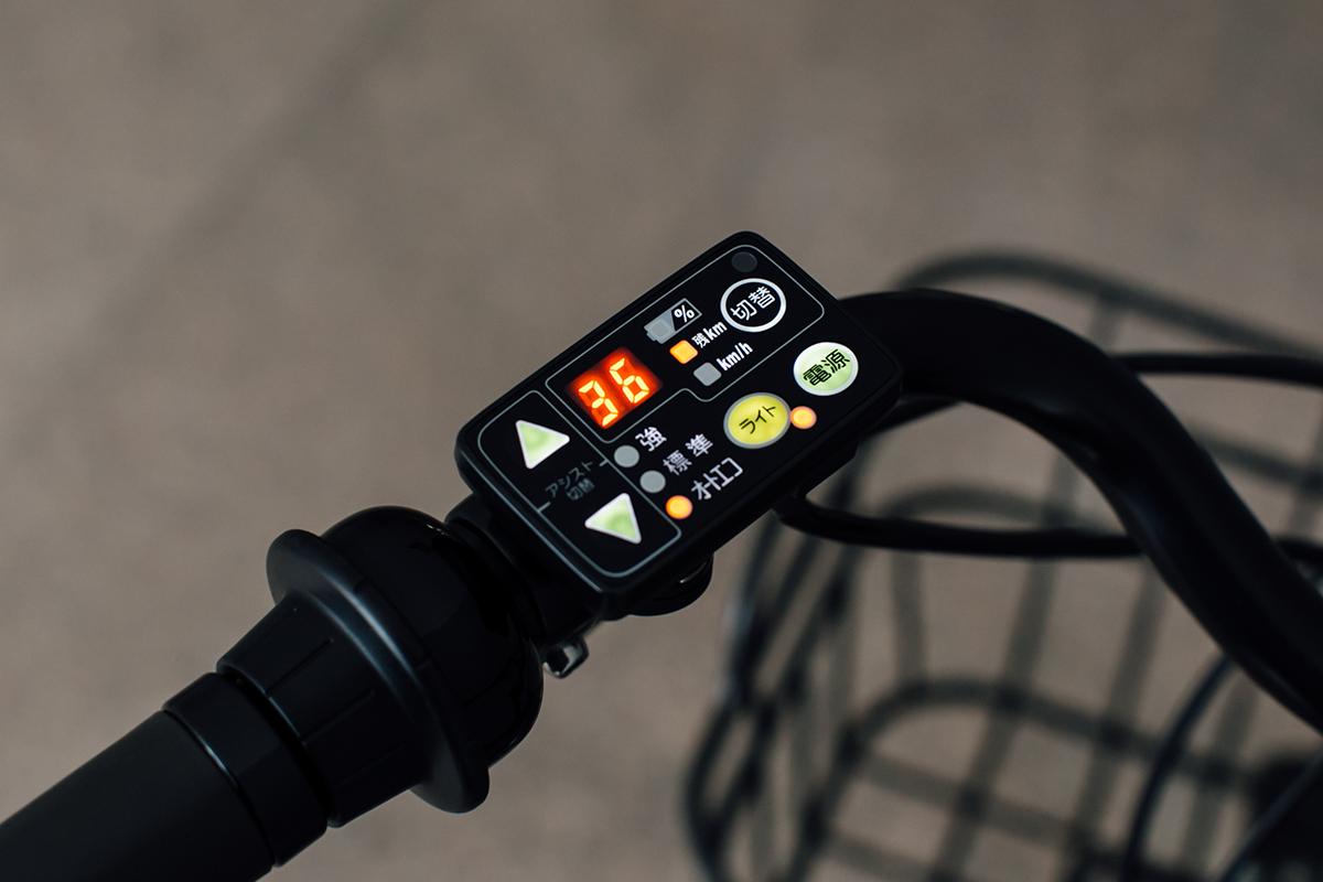 電動自転車 bikke 2e 操作パネル