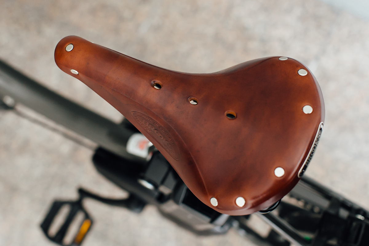 BROOKS サドル 電動自転車 bikke 2e
