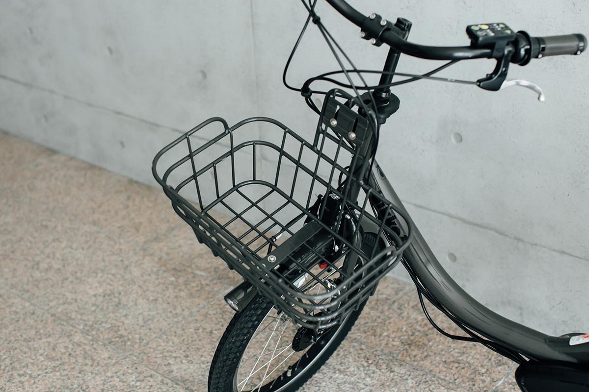 電動自転車 bikke 2e かご