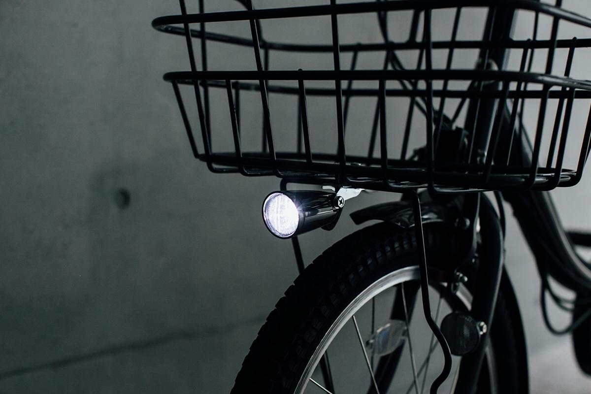 電動自転車 bikke 2e ライト