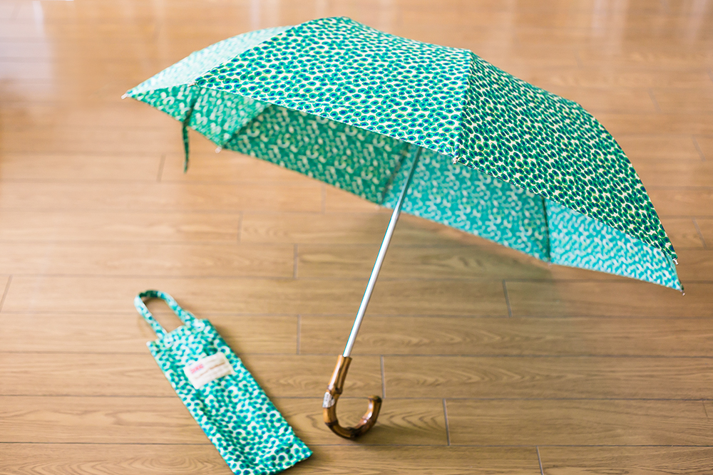 MACKINTOSH Traditional Weatherwear FOLDING UMBRELLA CHESTNUT 折りたたみ傘 2013SS
