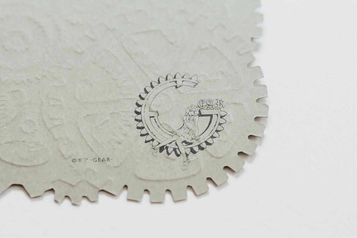 ギア グッズデザイン ポストカード