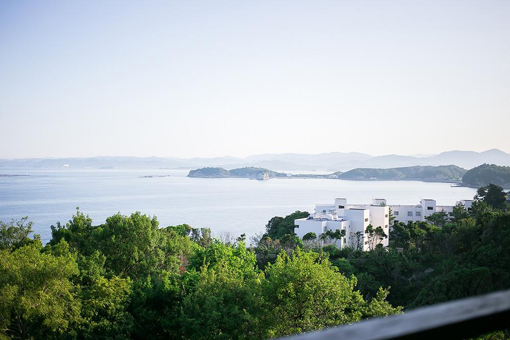 白浜の温泉宿 海舟からの景色