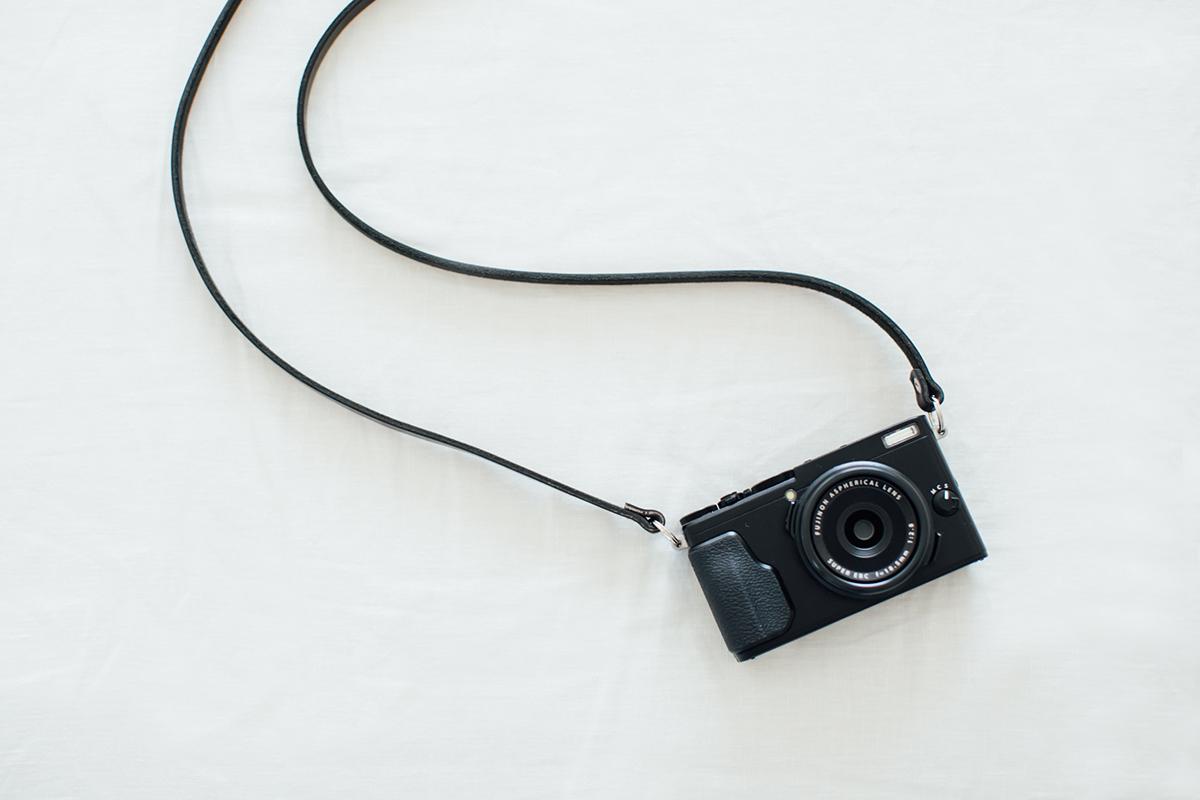 fujifilm X70 ストラップ