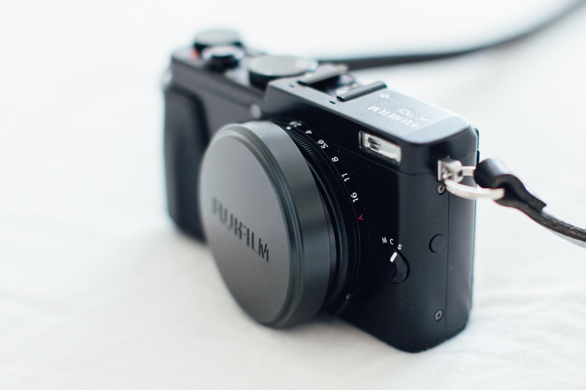 fujifilm X70 キャップ