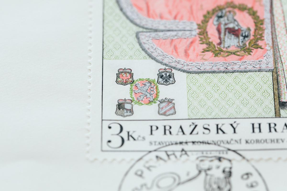 紙博のチェコの切手