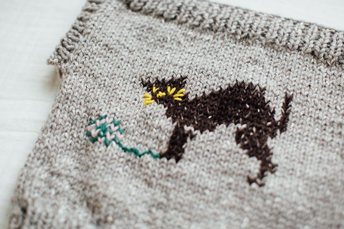 SWISH! 手編みねこベスト