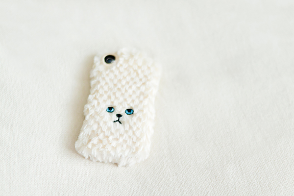 ねこiPhoneカバー