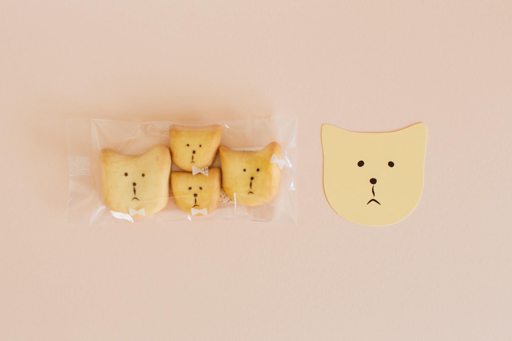 焼き菓子店のショップカードデザイン