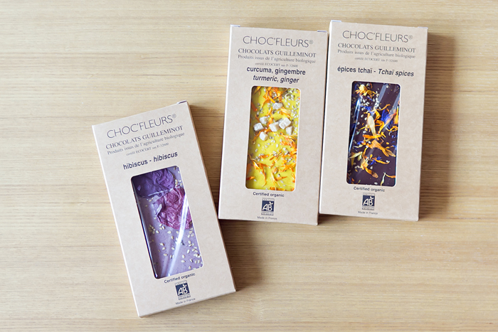 CHOC'FLEURSの花チョコレート