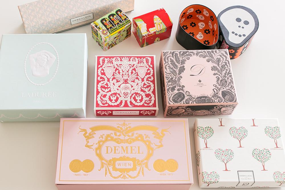 お菓子の箱コレクション