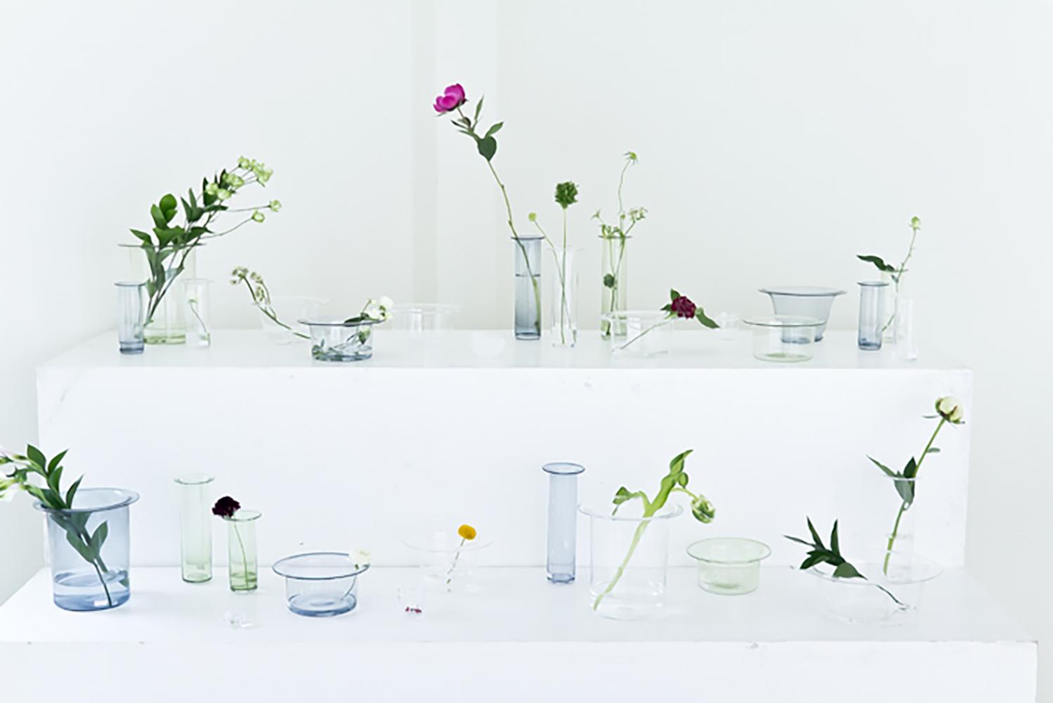 津村里佳さんのガラス展