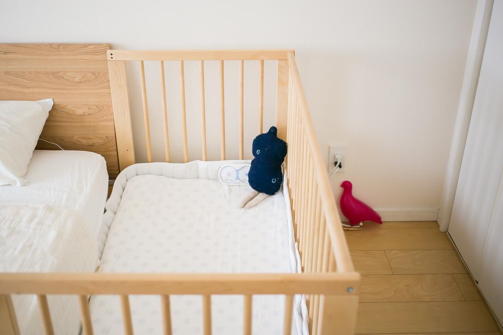 買ってよかった育児グッズ・IKEAベビーベッドと布団セット