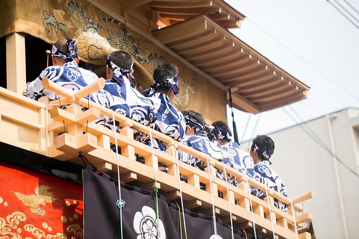 大船鉾 後祭巡行 2014