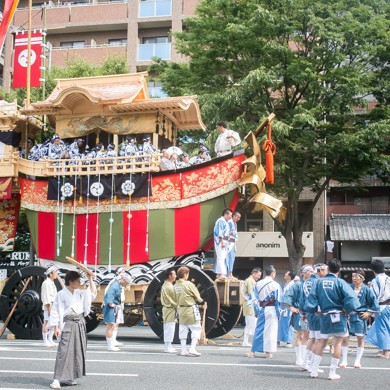 大船鉾 後祭巡行 祇園祭 2014