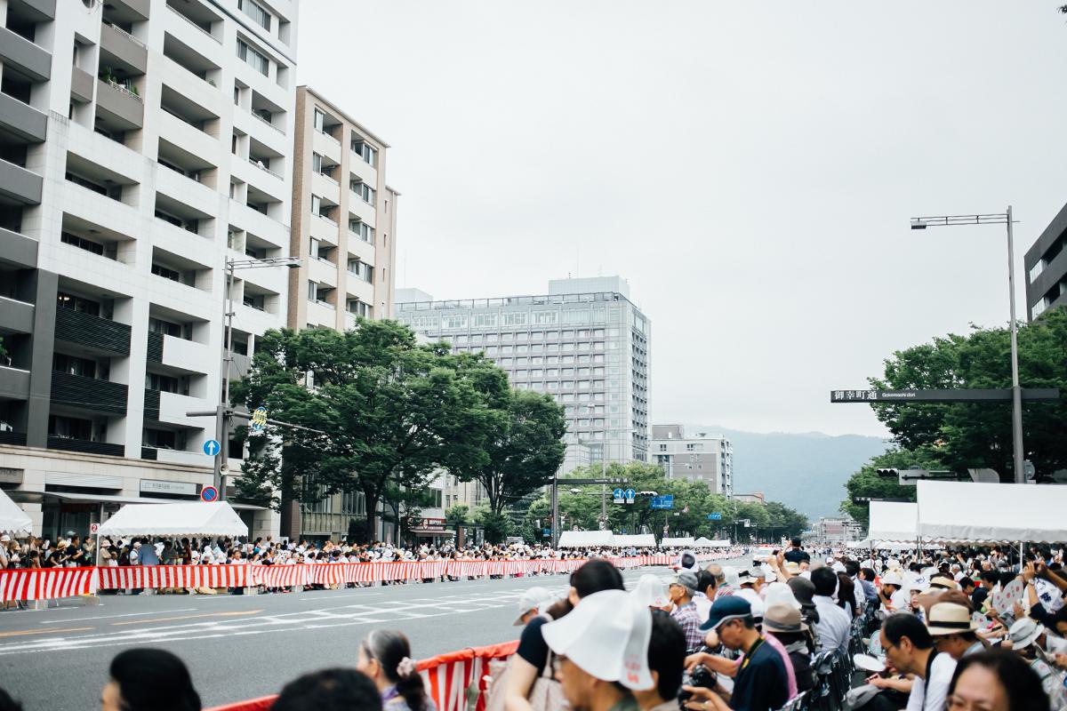祇園祭 2016 山鉾巡行 観覧席