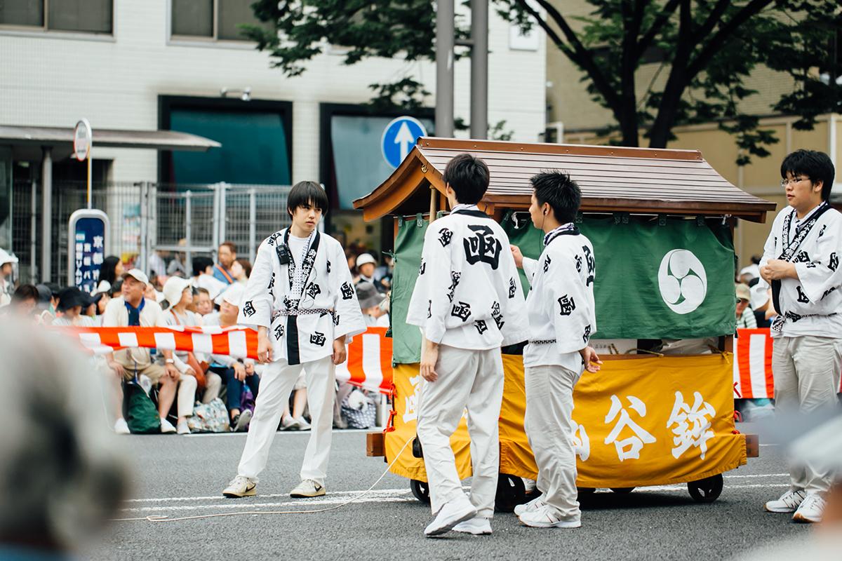 祇園祭 2016 山鉾巡行 観覧席 函谷鉾