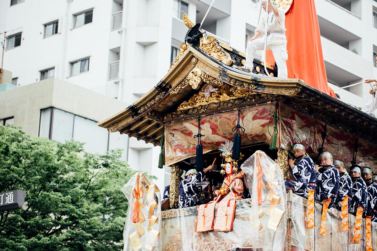 祇園祭 2016 山鉾巡行 観覧席 月鉾