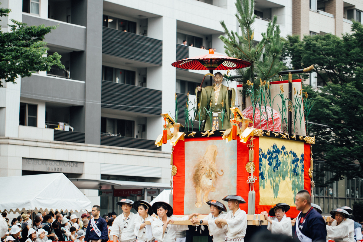 祇園祭 2016 山鉾巡行 観覧席 芦刈山