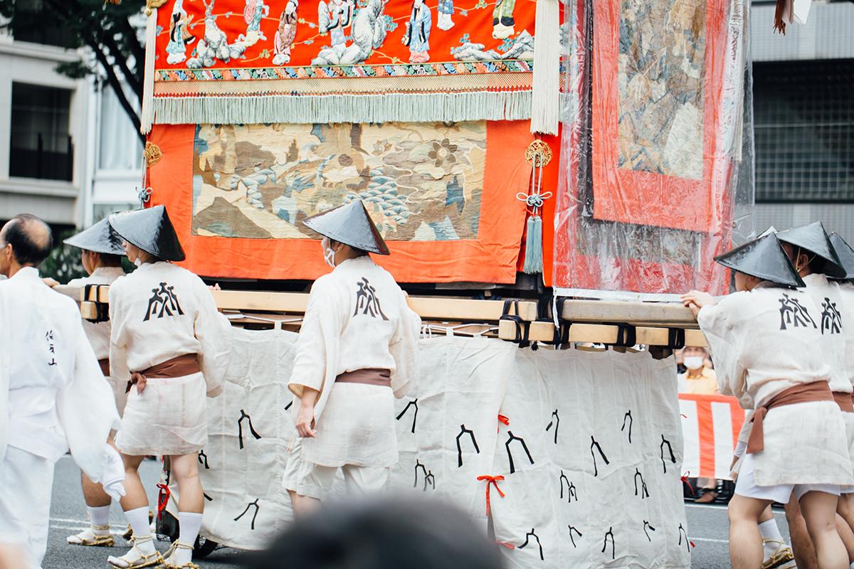 祇園祭 2016 山鉾巡行 観覧席 伯牙山