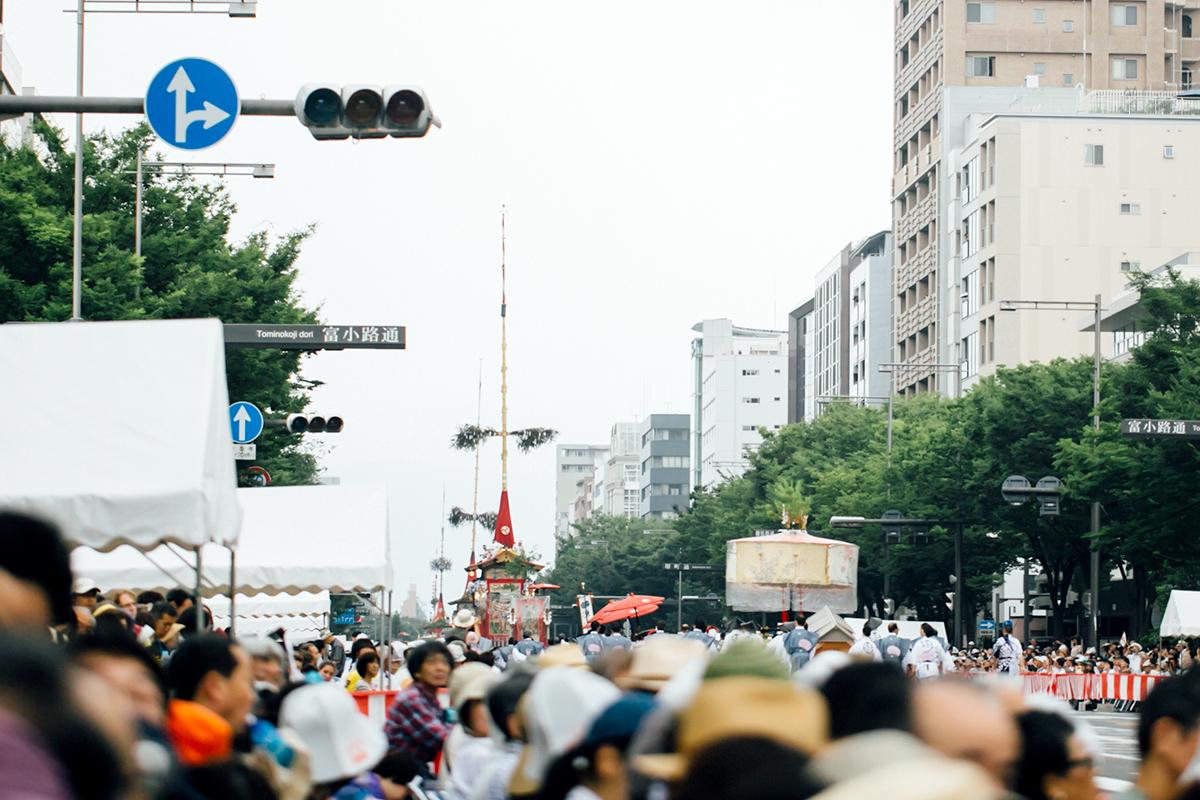 祇園祭 2016 山鉾巡行 観覧席からの眺め