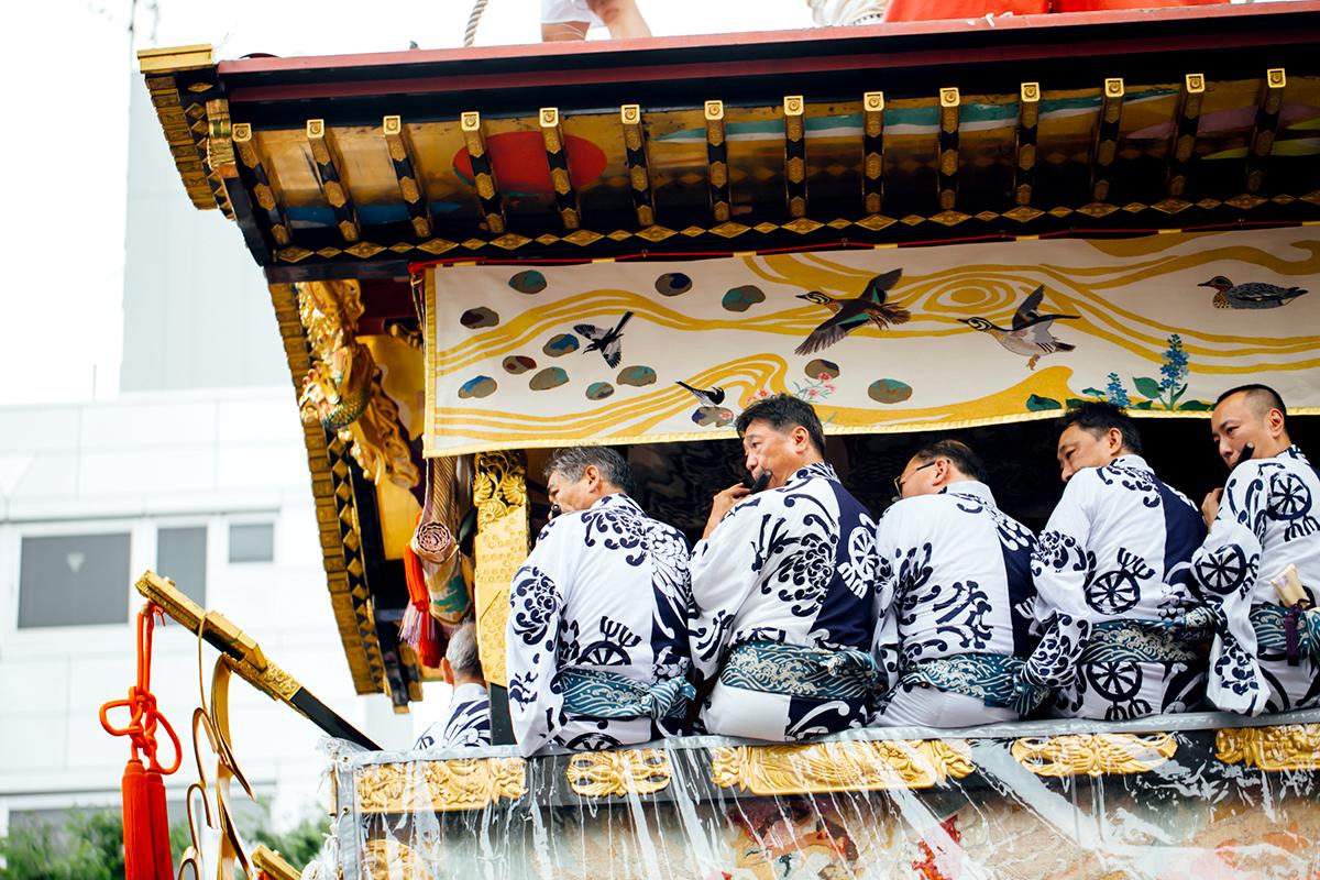 祇園祭 2016 山鉾巡行 観覧席 菊水鉾