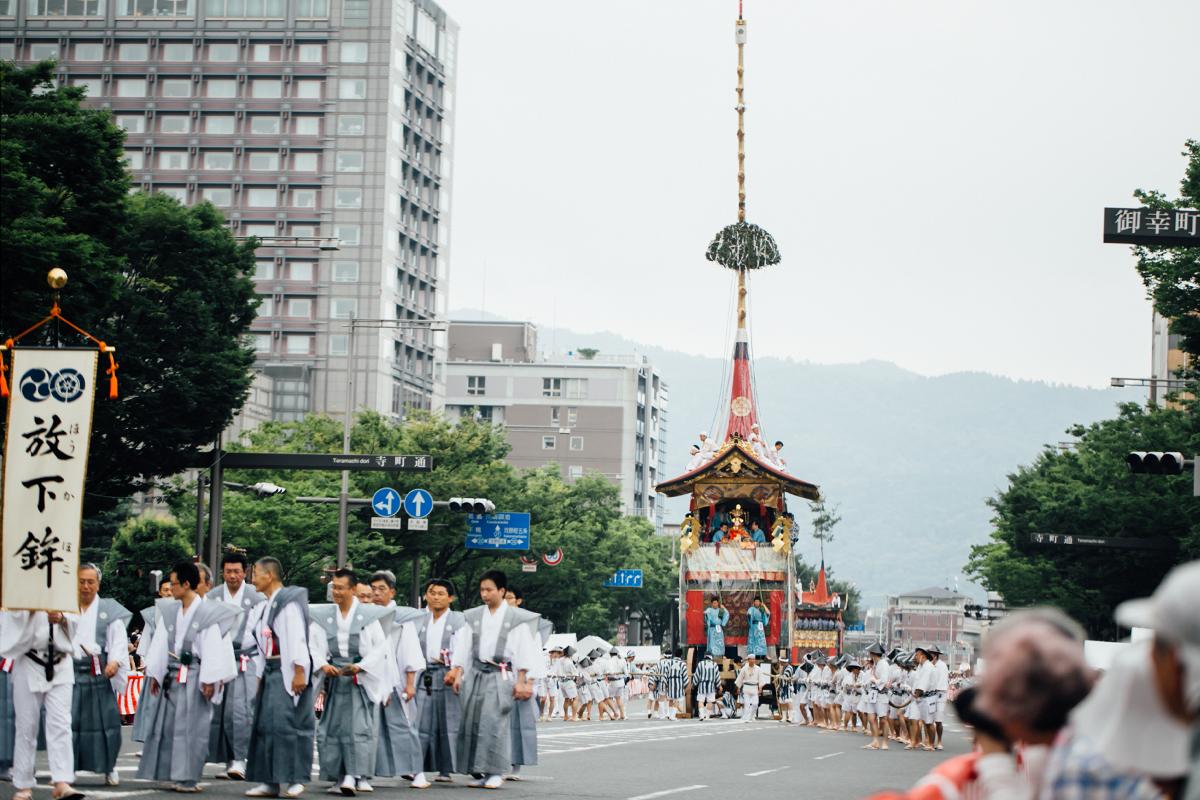 祇園祭 2016 山鉾巡行 観覧席 放下鉾