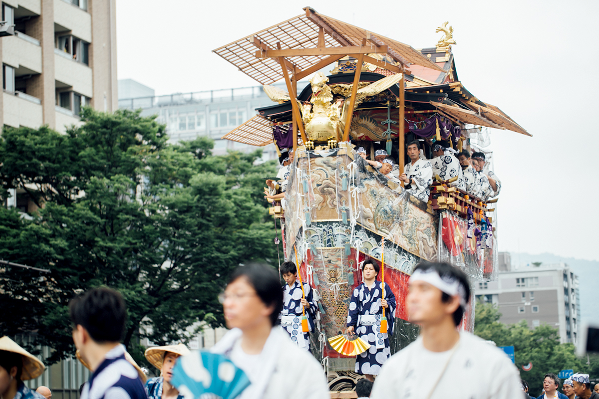 祇園祭 2016 山鉾巡行 観覧席 船鉾