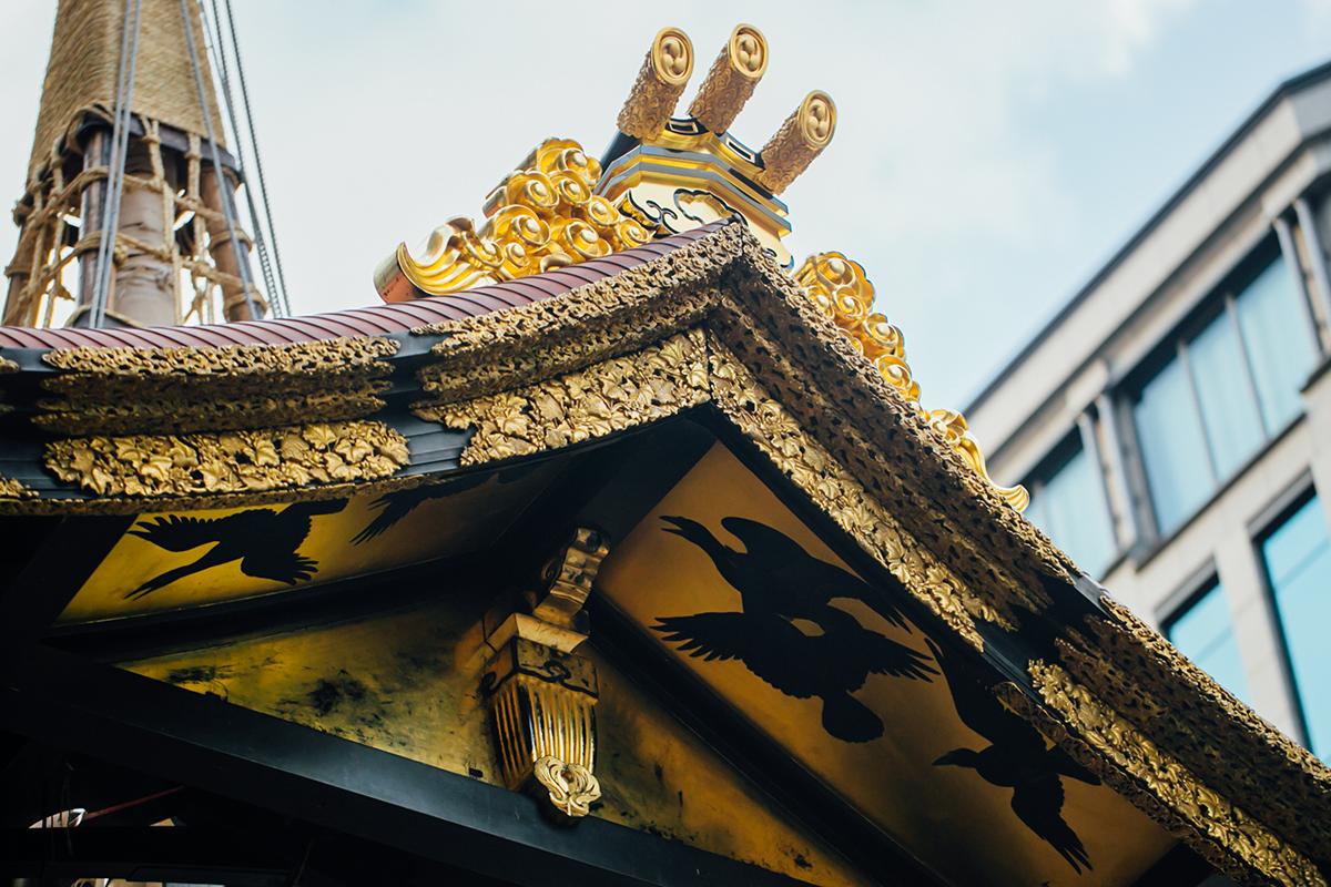 祇園祭 2016 山鉾巡行 函谷鉾解体