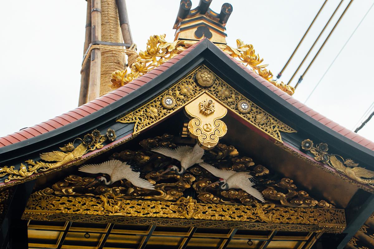 祇園祭 2016 山鉾巡行 放下鉾解体
