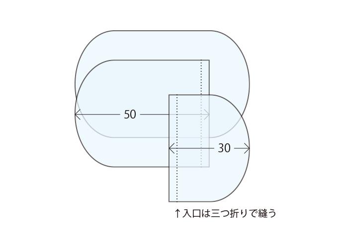 トッポンチーノの型紙