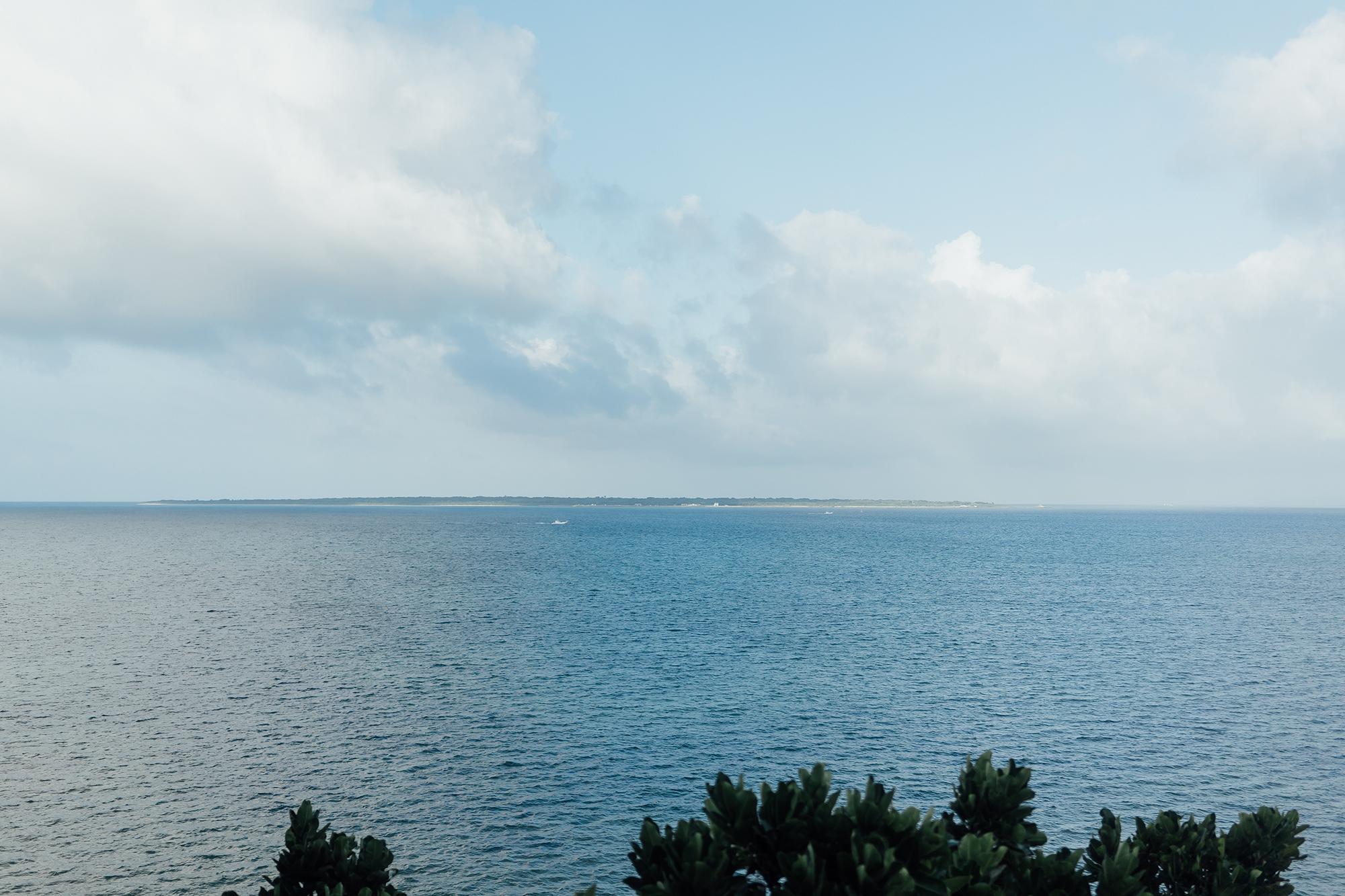 ホテルの部屋から 竹富島