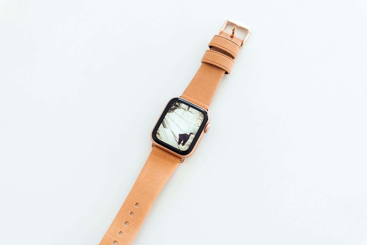 Apple Watch 5 + NOMAD ナメ革バンド