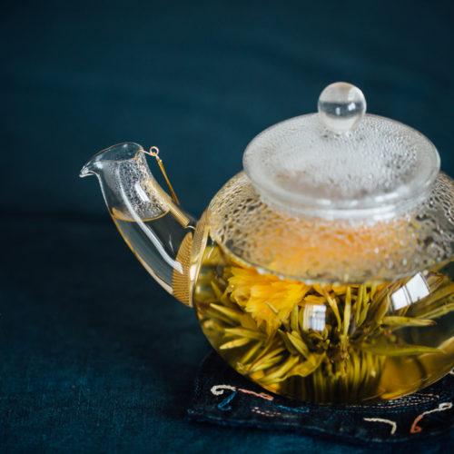 銀座CROESUSの工芸茶