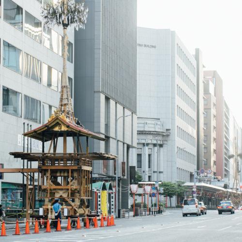 祇園祭 2016 山鉾巡行 月鉾解体
