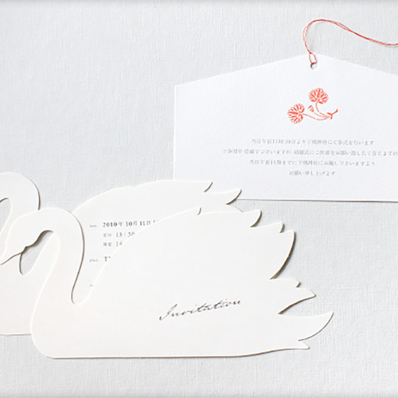結婚式招待状のデザイン