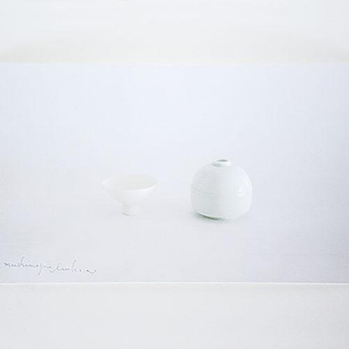 陶芸作家の展示会DMデザイン
