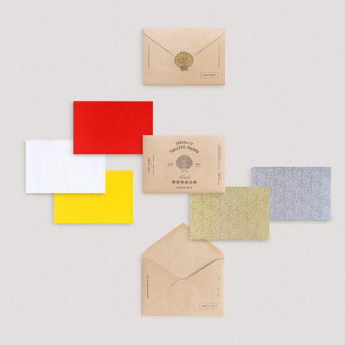 篠田紙加工場 紙クロスポストカードセット